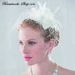 Fascinator Haarreifen  Farbe: ivory