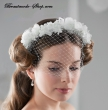 Haarreif Blueten Fascinator
