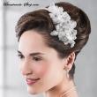 Haarreifen Brautfrisur