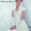 Brauthandschuhe in vielen Farben   weiss