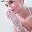 Brauthandschuhe Fingerhandschuh