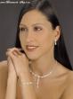 Schmuckset perle mit Strassstein