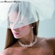 perlenbesetztes Brautschmuckset