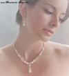 modenernes Schmuckset Perlen