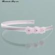 Haarschmuck Haarreifen Blumenkinder  Farbe  rosa