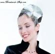 Haarschmuck   Braut Fascinator