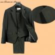 Anzug 3-teilig schwarz