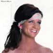 Stirnband mit spanischer Spitze