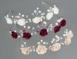 Haarreif mit zarten Rosen für Blumenkinder