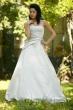 Brautkleid mit Franzoesischer Spitze