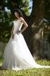 Brautkleid als Zweiteiler   weiss