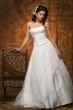 Eleganter Brautkleid Zweiteiler   weiss