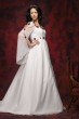 Brautkleid aus Satin & Chiffon