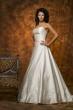 Zweiteiliges Brautkleid   weiss glanz
