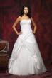 Corsagen Brautkleid mit Spitze   weiss