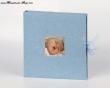 Babybuch blau