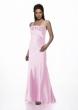 Abendkleid Rosen mit passender Stola, rosa